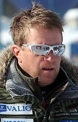 Klemen Bergant at 9th men's slalom race of Audi FIS Ski World Cup, Pokal Vitranc,  in Podkoren, Kranjska Gora, Slovenia, on March 1, 2009. (Photo by Vid Ponikvar / Sportida)