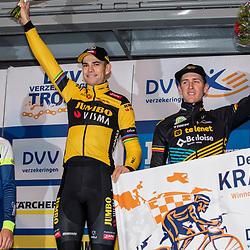 2020-02-08 Cycling: dvv verzekeringen trofee: Lille: Wout van Aert wins the Krawatencross ahead of Quinten Hermans and Toon Aerts