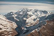 Flight with Kodiak plane from Kabul to Kret village (Wakhan Corridor), over the Panshir valley.