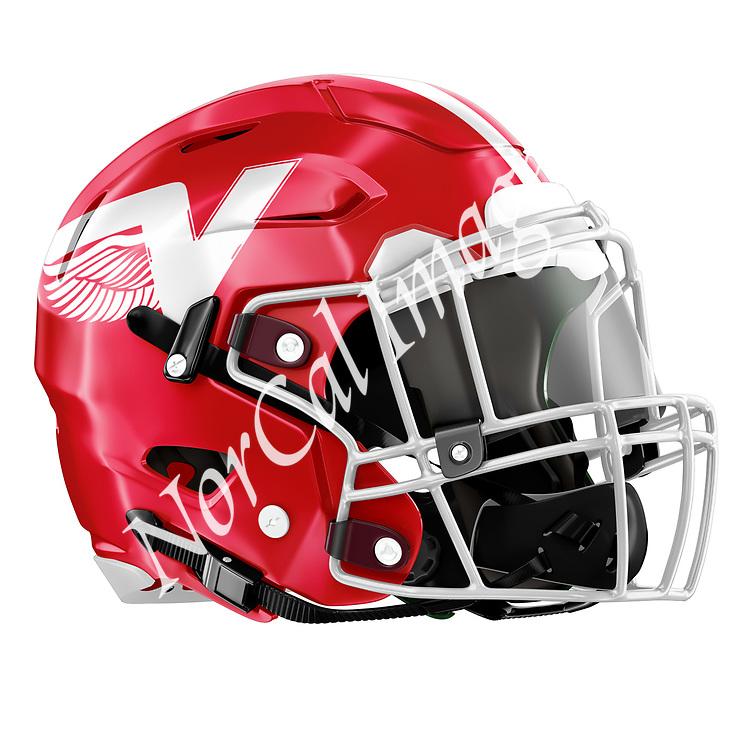 Vallejo High School Football Helmet