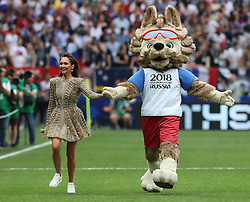 MOSCOW, July 15, 2018  Photo taken on July 15, 2018 shows the closing ceremony of the 2018 FIFA World Cup in Moscow, Russia. (Credit Image: © Yang Lei/Xinhua via ZUMA Wire)