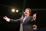 Michael Ball performs at Audley End House, Essex