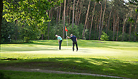 HERKENBOSCH- Hole 16, rood 7 , Golfbaan Herkenbosch bij Roermond. FOTO KOEN SUYK