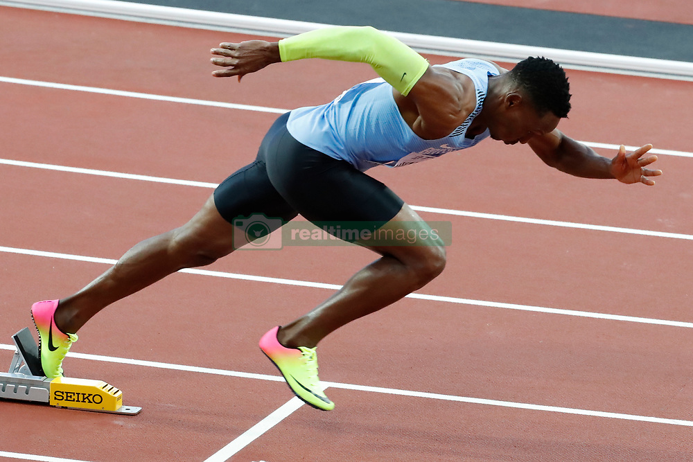 Botswana's Isaac Makwala one of the favorites of the 400 meters men in the semi-finals during the IAAF World Athletics 2017 Championships In Olympic Stadium, Queen Elisabeth Park, London, UK on August 6, 2017 Photo by Henri Szwarc/ABACAPRESS.COM