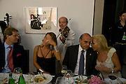 FIONA SWAROVSKI; EVA O'NEILL, Dinner at the Museum der Moderne. Salzburg.  Amadeus Weekend. Salzburg. 23 August 2008.  *** Local Caption *** -DO NOT ARCHIVE-© Copyright Photograph by Dafydd Jones. 248 Clapham Rd. London SW9 0PZ. Tel 0207 820 0771. www.dafjones.com.
