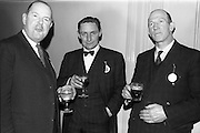 28/04/1964<br /> 04/28/1964<br /> 28 April 1964<br /> Watney Sales Conference at the Shelbourne Hotel, Dublin. At the conference were (l-r): ?; Mr. J.W. Stone and Mr. N. O'Hara.