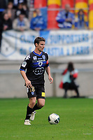 FOOTBALL - FRENCH CHAMPIONSHIP 2011/2012 - LE MANS FC v SC BASTIA   - 4/05/2015 - PHOTO PASCAL ALLEE / DPPI - Yannick CAHUZAC (BAS)