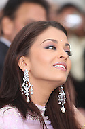 Indian actress Aishwarya Rai arriving at the International Indian Film Academy Awards (IIFA) ceremony at the Hallam Arena in Sheffield for the annual IIFA awards. The awards were known as the 'Bollywood Oscars' and ran from 7-10th June. They were watched by an estimated global television audience 500 million people.