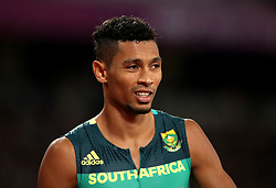 South Africa's Wayde Van Niekerk during the Men's 400m Final during day five of the 2017 IAAF World Championships at the London Stadium.
