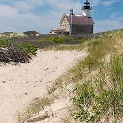 North Lighthouse on Block Island, Rhode Island