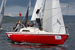 Day three of the Silvers Marine Scottish Series 2016, the largest sailing event in Scotland organised by the  Clyde Cruising Club<br /> Racing on Loch Fyne from 27th-30th May 2016<br /> GBR8397N, Fiddlesticks, Ross Flatman, HSC, Sonata OD<br /> <br /> <br /> <br /> Credit : Marc Turner / CCC<br /> For further information contact<br /> Iain Hurrel<br /> Mobile : 07766 116451<br /> Email : info@marine.blast.com<br /> <br /> For a full list of Silvers Marine Scottish Series sponsors visit http://www.clyde.org/scottish-series/sponsors/