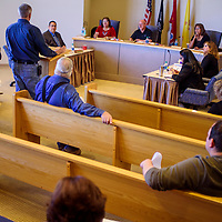 The McKinley County Commission conducts a regular meeting Wednesday at the McKinley County Courthouse in Gallup.