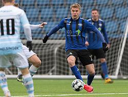 Magnus Wørts (HB Køge) under træningskampen mellem FC Helsingør og HB Køge den 22. februar 2020 på Helsingør Ny Stadion (Foto: Claus Birch).