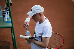 Robert Kukovica, SPORT TV, Drzavno prvenstvo novinarjev v tenisu 2019, on June 12, 2019 in Tivoli, Ljubljana, Slovenia. Photo by Saso Pahic Szabo / Sportida