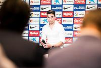 Argentinian football player Nico Gaitan is present like new Atletico de Madrid's football player for the next season 2016-2017 at Vicente Calderon Stadium in Madrid. July 19, Spain. 2016. (ALTERPHOTOS/BorjaB.Hojas)