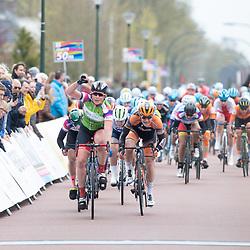 14-04-2019: Wielrennen: Healthy Ageing Tour: Oldambt<br /> Kirsten Wild wint de slotetappe in de Healthy Ageing Tour