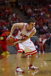 03 January 2009: Sead Odzic. The Illinois State University Redbirds extended their record to 14-0 with a 86-64 win over the Creighton Bluejays on Doug Collins Court inside Redbird Arena on the campus of Illinois State University in Normal Illinois