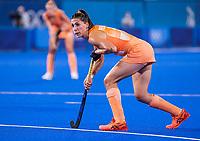 TOKIO -  Malou Pheninckx (NED)  tijdens de wedstrijd dames , Nederland-India (5-1) tijdens de Olympische Spelen   .   COPYRIGHT KOEN SUYK