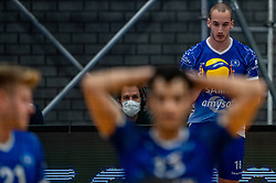 Dennis Borst of Lycurgus in action during the second final league match between Amysoft Lycurgus vs. Draisma Dynamo on April 24, 2021 in Groningen.