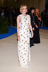 Diane Kruger arriving at The Metropolitan Museum of Art Costume Institute Benefit celebrating the opening of Rei Kawakubo / Comme des Garcons : Art of the In-Between held at The Metropolitan Museum of Art  in New York, NY, on May 1, 2017. (Photo by Anthony Behar) *** Please Use Credit from Credit Field ***