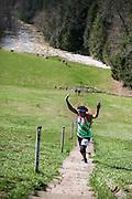 4/11/15 — LOUDONVILLE, Ohio — Forget the PR 50k Ultramarathon