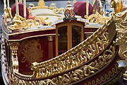 The Gloriana is a 28.6-metre-long (94 ft) British royal barge. She was privately commissioned as a tribute to Queen Elizabeth II for her Diamond Jubilee, and was the lead vessel in the Thames Diamond Jubilee Pageant.
