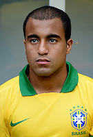 Fifa Brazil 2013 Confederation Cup / Group A Match /<br /> Brazil vs Japan 3-0  ( National / Mane Garrincha Stadium - Brasilia , Brazil )<br /> LUCAS MOURA of Brazil , during the match between Brazil and Japan