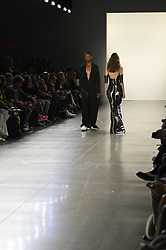 September 12, 2018 - New York, New York, U.S - September, 2018 - New York, New York  U.S. - Models, on the runway at the HOGAN MCLAUGHLIN S/S 2019 RTW show during New York Fashion Week 2018.  (Credit image (c) Theano Nikitas/ZUMA Wire/ZUMAPRESS.com (Credit Image: © Theano Nikitas/ZUMA Wire)