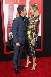 TAG World Premiere - Los Angeles. 07 Jun 2018 Pictured: Leslie Bibb, Sam Rockwell. Photo credit: Jaxon / MEGA TheMegaAgency.com +1 888 505 6342