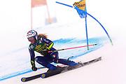 SOELDEN, AUSTRIA. OCTOBER 17 2020:  1st Women's Giant Slalom as part of the Alpine Ski World Cup in Solden on October 17, 2020; Run 1, Marta Bassino (ITA) in action ( Pierre Teyssot/ESPA Images-Image of Sport)