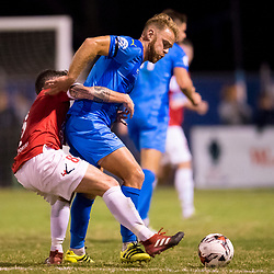 BRISBANE, AUSTRALIA - AUGUST 2:  during the Westfield FFA Cup Round of 32 match between Gold Coast City and Western Knights on August 2, 2017 in Brisbane, Australia. (Photo by Patrick Kearney)