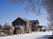 Ghost town of May, Pahsimeroi Valley, Idaho.