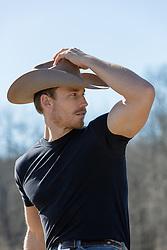 sexy-cowboy outdoors