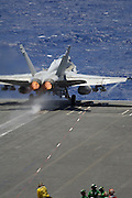F/A-18C Catapulted into flight