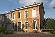 Chateau St Jean d'Aumieres, Gignac village. Terrasses de Larzac. Languedoc. The main building. France. Europe.