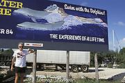 dolphin anti-captivity activist Ric O'Barry in the Florida Keys, USA