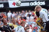 NM i fotball, Rosenborg - Raufoss 2-1<br /> Steffen Iversen header inn 1-0<br /> Foto: Carl-Erik Eriksson, Digitalsport