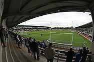 A general view of the Pirelli Stadium during the EFL Sky Bet Championship match between Burton Albion and Brighton and Hove Albion at the Pirelli Stadium, Burton upon Trent, England on 17 September 2016.