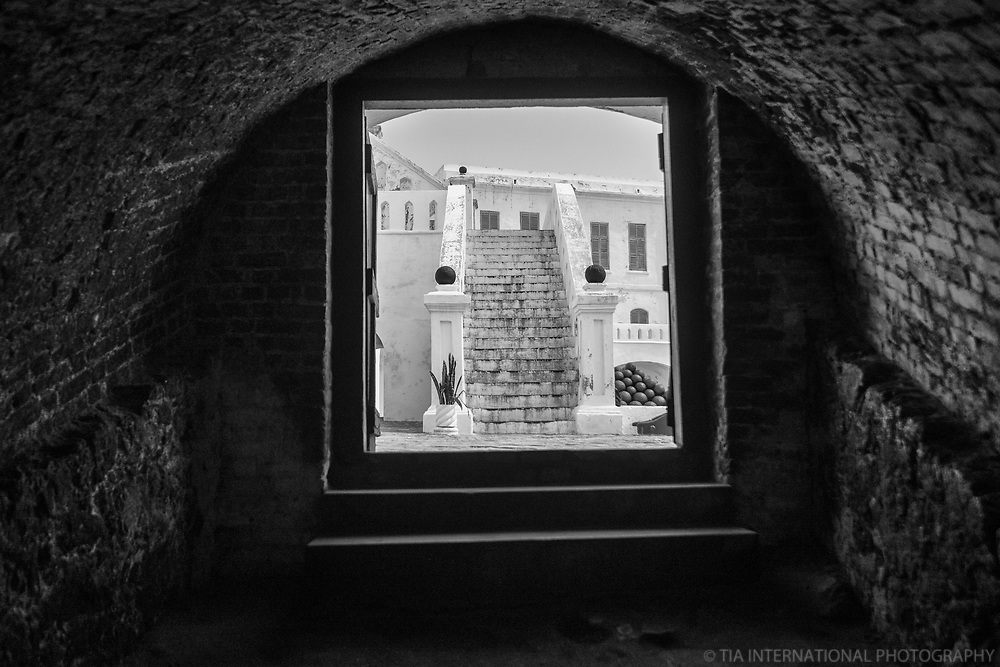 Tunnel Entrance Leading from Courtyard to Slave Dungeons
