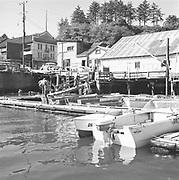 1006-C026C-06.  Newport Harbor, November 1962. Grand Rooms, 215 SW Bay Blvd,