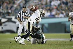 23 November 2003: The Philadelphia Eagles defeated the New Orleans Saints 33-20 at Lincoln Financial Field in Philadelphia, PA. <br /><br />Mandatory Credit: Drew Hallowell