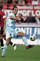Milano 21/8/2004 Supercoppa Italiana - Italian Supercup Milan Lazio 3-0 Luciano Zauri Lazio <br /> <br /> Foto Andrea Staccioli Graffiti