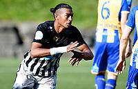 Fotball , 2. september 2017 , 2. divisjon herrer , PostNord-ligaen<br /> Asker - Alta<br /> jubel Asker ved Demba Traore Souleymane