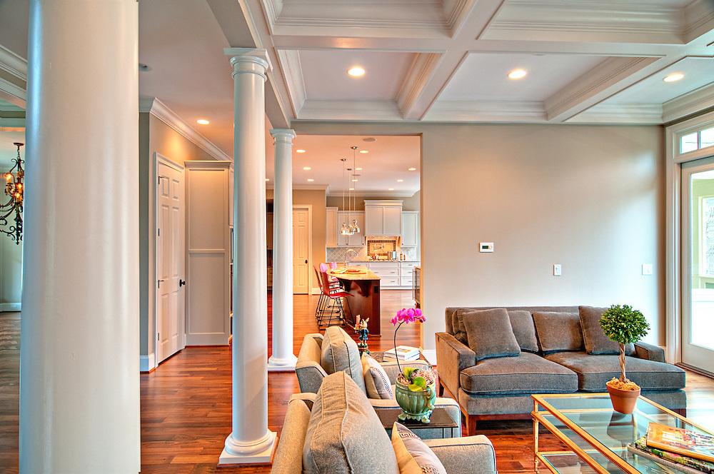 Custom Home Interior,Chapel Hill, NC<br /> Zinn Design Build