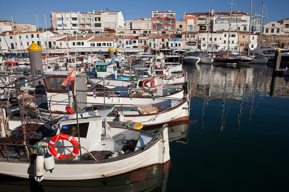Ciutadella, Menorca, Spain.