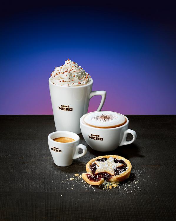 Coffee And Vegan Minced Pies - Caffe Nero