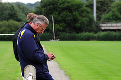 Bristol Rovers Manager, John Ward attends the Under 18s game  - Photo mandatory by-line: Dougie Allward/JMP - Tel: Mobile: 07966 386802 17/08/2013 - SPORT - FOOTBALL - Bristol Rovers Training Ground - Friends Life Sports Ground - Bristol - Academy - Under 18s - Youth - Bristol Rovers U18s V Bournemouth U18s
