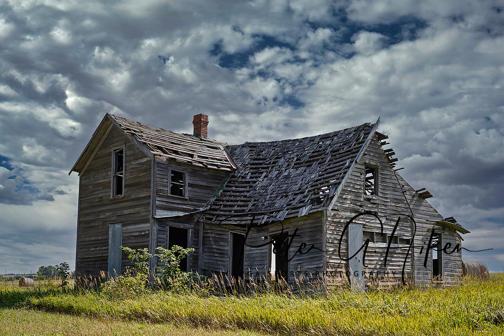 Abandon Farm House in the Flint Hills.