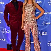 Ore Oduba and Portia Oduba attends BBC1's National Lottery Awards 2019 at BBC Television Centre, 101 Wood Lane, on 15 October 2019, London, UK.