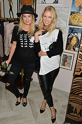 Left to right, MARISSA MONTGOMERY and JENNY MEISTER at a party to celebrate the launch of Baar & Bass, 336 Kings Road, London on 9th September 2014.